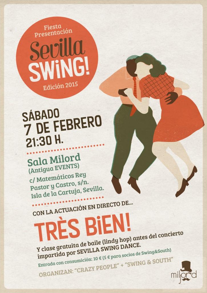 Fiesta de presentación Sevilla Swing! 2015