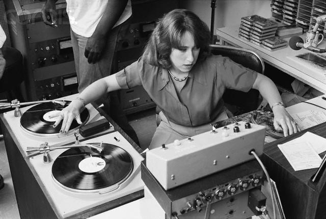 KRE Radio Disc Jockey Joanne Rosenweig